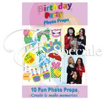 Accessori Photo Booth Compleanno (conf. 10pz)