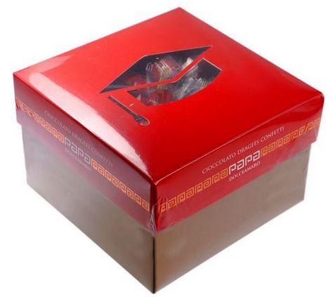 Confetti Mandorla Laurea Monodose 500gr. - Shop per Colore - Rosso ... 10fcdf06ceba