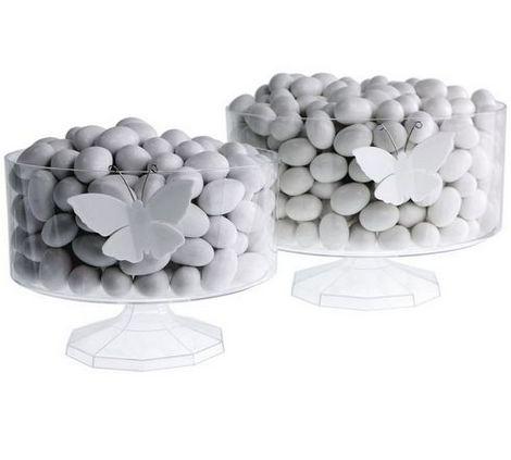 Contenitore di plastica trifle prodotti per confetti for Vasi per confettata on line