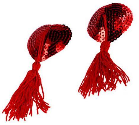 donna disegni attraenti fashion style Cuori Copri Capezzoli con Nappa - Prodotti per Addio ...