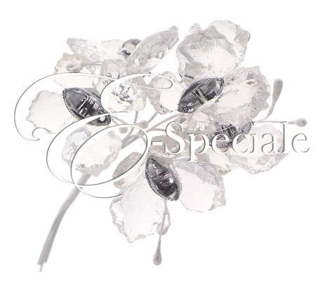 Farfalle decorative con strass conf 6pz prodotti per for Farfalle decorative per muri
