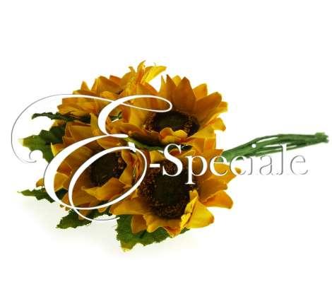 Mazzolino Girasole 6%20pezzi Summer Tuscan Wedding