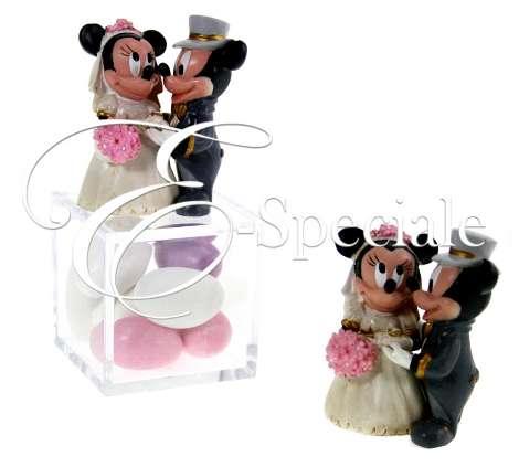 Bomboniere Matrimonio Disney.Statuina Topolino E Minnie Sposi Prodotti Per Matrimonio