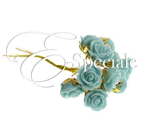 Roselline stile vintage conf 10pz prodotti per for Addobbi per promessa di matrimonio