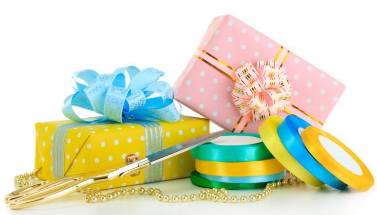 rimanenze carta da regalo e nastri