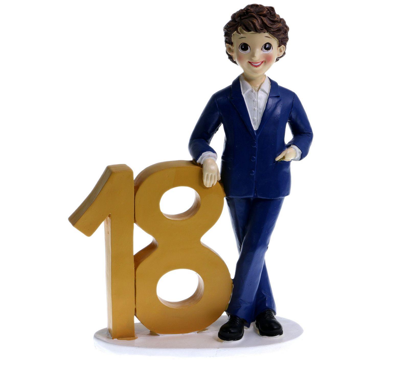 Caketopper 18 anni prodotti per stampi e decori per for Tavolo 18 anni ragazzo