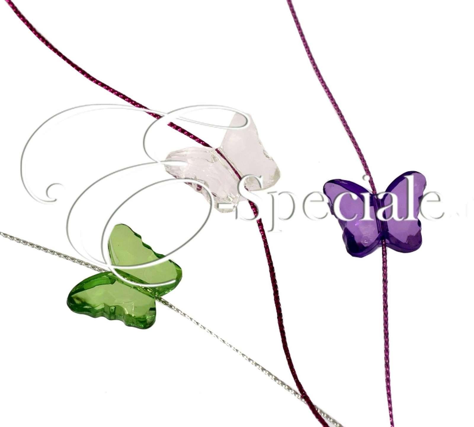 Farfalle Decorative Fai Da Te farfalla in resina colorata